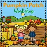 Pumpkin Patch Math and Literacy Unit - Autumn Theme