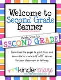 Welcome to Second Grade Banner