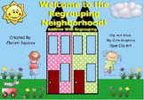 Welcome to the Regrouping Neighborhood!  Addition With Reg