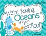 We're Having Oceans of Fun in School  Door Decor - Editable
