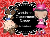 Western Decor Pack