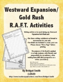 Westward Expansion/Gold Rush R.A.F.T. Activities