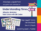 Whacky Watches Telling Time to 5 Minutes Math Center -- wi