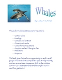 Whales by Lesley A. DuTemple: Reading Strategies