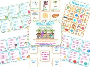 What Am I? Summer Edition {A Describing Game}