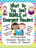 What Do You See BUNDLE of BOOKS Preschool or Kindergarten