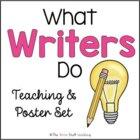 Free Downloads: Good Writers Poster Set