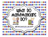 What do mathematicians do?