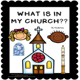 What is in My Church? Make a Book