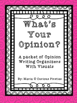 https://www.teacherspayteachers.com/Product/Whats-Your-Opinion-1272545
