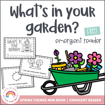 What's in Your Garden? {Springtime Freebie}
