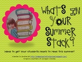 What's in Your Summer Stack?