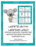 What's on My Writing Wall? Editing and Writing Process Posters