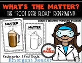 What's the Matter Root Beer Float Experiment Reader Kinder
