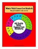 Wheel of 7th Grade Math Common Core Standards