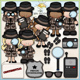 When I Grow Up: Detective 1 - Commercial Use Clip Art & Bl