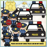 When I Grow Up: Policeman / Police Officer -CU Clip Art &