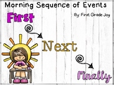 When I Wake: Sequence of Events Worksheet