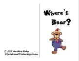 Where's Bear?  Interactive Positional Word Book