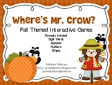 Where's Mr Crow? Interactive Fall Games