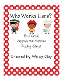Who Works Here First Grade Supplemental Reading Street Materials