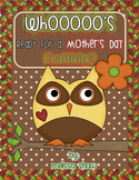 Whooo's Ready for A Mother's Day Craftivity Gift?
