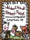 Wild About Animals - Common Core Research Pack