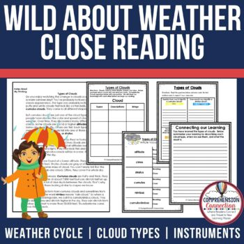 Wild About Weather Close Reading Bundle