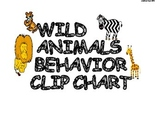 Wild Animals Themed Behavior Clip Chart & Management System