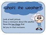 Wild Weather Mini Unit - Literacy and Math Fun