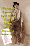 Westward Expansion: Death of Billy the Kid Primary Source