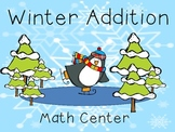 Winter Addition Math Center
