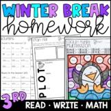 Winter Break Homework Packet {PRINT & GO!}