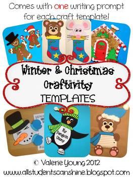 Winter Craftivities *TEMPLATES*