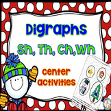 Digraphs ~ sh, th, ch, wh