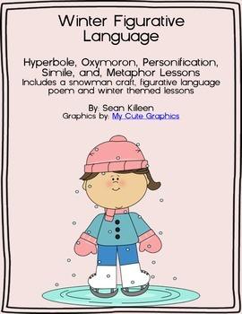 Winter Figurative Language Pack