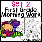 Winter First Grade Morning Work