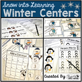 Winter Centers for Math and Literacy ~ Frosty in First Grade