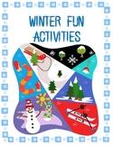 Winter Fun Activities