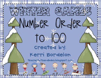 Winter Games Number Order to 100