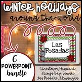 Winter Holidays Powerpoints Christmas Kwanzaa Hanukkah Diw