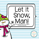 Winter Literacy Centers - Comprehension and Word Knowledge