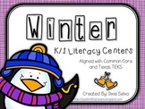 Winter Literacy Centers for K/1