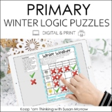Beginning Logic Puzzles and Activities:  Winter Theme Gr. 1-3