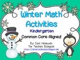 Winter Math Activities Kindergarten Pack
