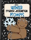 Winter Math Journal Prompts- Vol.1