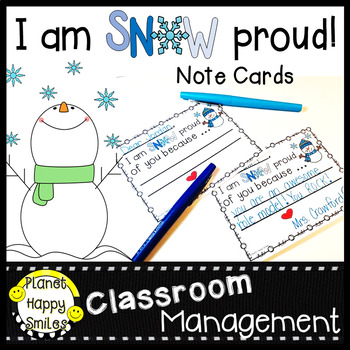 Winter Note Cards ~ Freebie