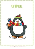 Winter Noun Sort Activity-Free
