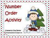 Winter Number Order Activities