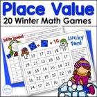 Winter Place Value Games